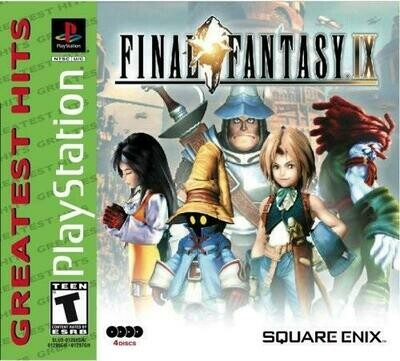 FINAL FANTASY 9 GREATEST HITS (COMPLETE IN BOX) (usagé)
