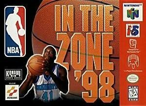 NBA IN THE ZONE '98 (COMPLETE IN BOX) (usagé)
