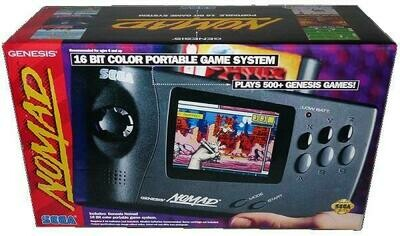 SEGA NOMAD (COMPLETE IN BOX) (usagé)