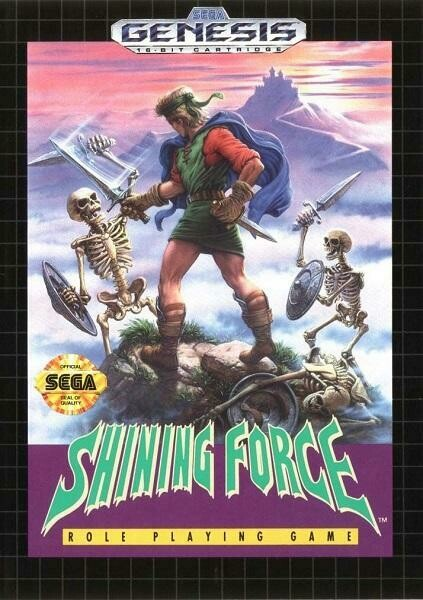 SHINING FORCE (COMPLETE IN BOX)