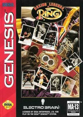 BOXING LEGENDS OF THE RING (COMPLETE IN BOX) (usagé)