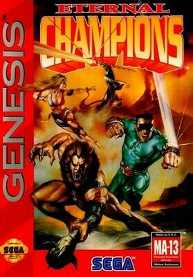 ETERNAL CHAMPIONS (COMPLETE IN BOX) (usagé)