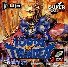 TURBOGRAFX-16 LORDS OF THUNDER (COMPLETE IN BOX) (usagé)