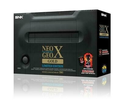 SNK NEO GEO X GOLD LIMITED EDITION (usagé)
