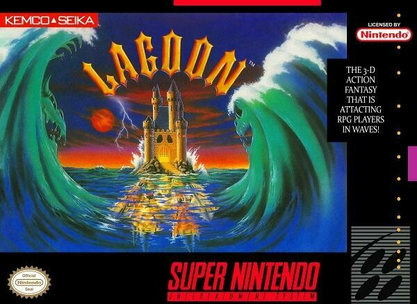 LAGOON (COMPLETE IN BOX) (usagé)