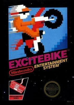 EXCITEBIKE (COMPLETE IN BOX) (usagé)