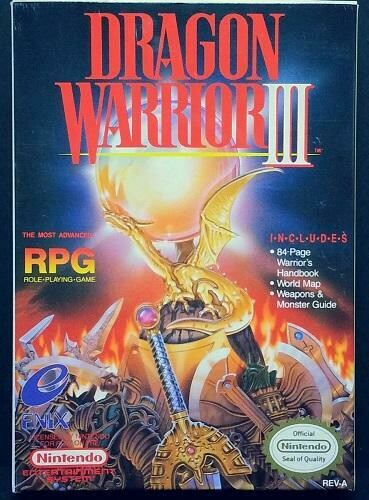 DRAGON WARRIOR III (COMPLETE IN BOX) (usagé)