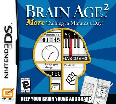 BRAIN AGE 2 (COMPLETE IN BOX) (usagé)