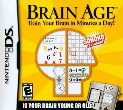 BRAIN AGE (COMPLETE IN BOX) (usagé)