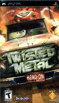 TWISTED METAL HEAD-ON (WITH BOX) (usagé)
