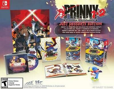 PRINNY 1-2 EXPLODED & RELOADED JUST DESSERTS EDITION