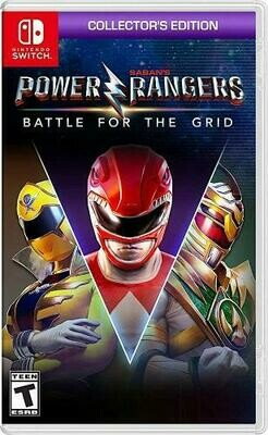 POWER RANGERS BATTLE FOR THE GRID COLLECTORS EDITION