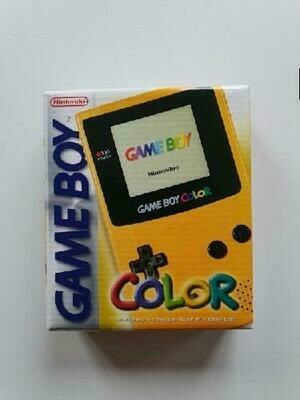 GAMEBOY COLOR YELLOW (COMPLETE IN BOX) (usagé)