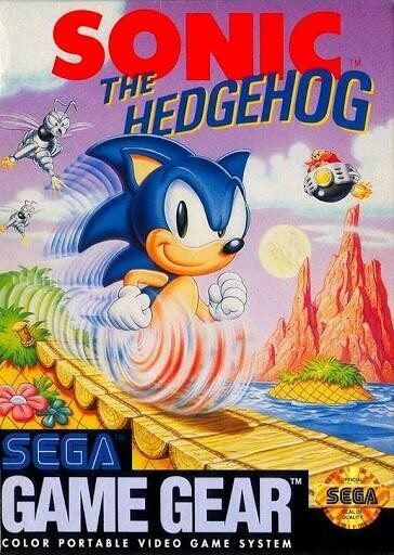 GAME GEAR SONIC THE HEDGEHOG