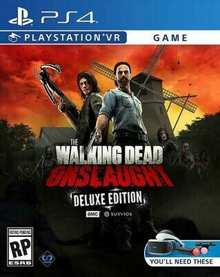 THE WALKING DEAD ONSLAUGHT DELUXE EDITION