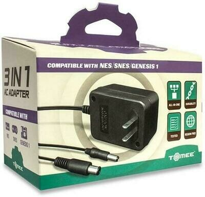 AC ADAPTER 3 IN 1 SNES/NES/GEN MODEL 1