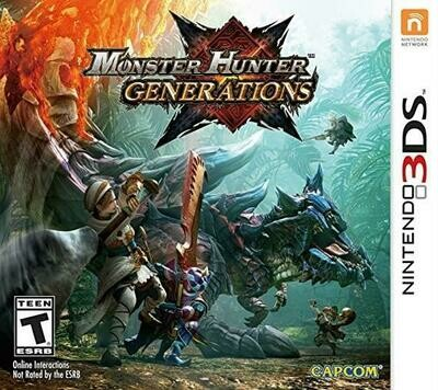 MONSTER HUNTER GENERATIONS (COMPLETE IN BOX) (usagé)
