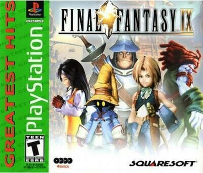 FINAL FANTASY 9 GREATEST HITS (WITH BOX) (usagé)