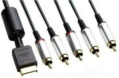 COMPONENT CABLE PS2 / PS3 SONY (usagé)