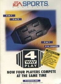 4 PLAYERS MULTI TAP 4 WAY PLAY (COMPLETE IN BOX) (usagé)
