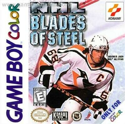 NHL BLADES OF STEEL 99 (COMPLETE IN BOX) (usagé)
