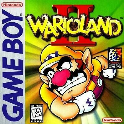 WARIO LAND 2 (COMPLETE IN BOX) (usagé)