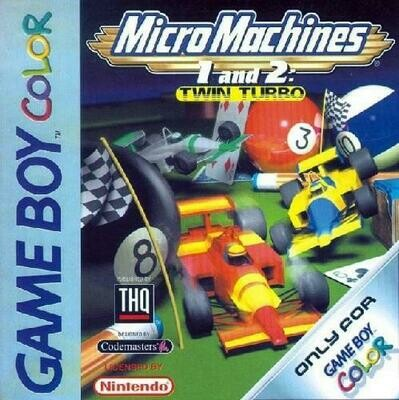MICRO MACHINES 1 AND 2 TWIN TURBO (COMPLETE IN BOX) (usagé)