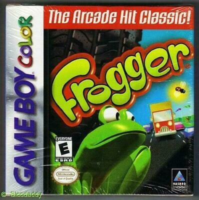 FROGGER (COMPLETE IN BOX) (usagé)