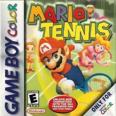 MARIO TENNIS (COMPLETE IN BOX) (usagé)