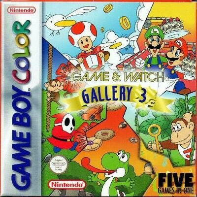GAME & WATCH GALLERY 3 (COMPLETE IN BOX) (usagé)