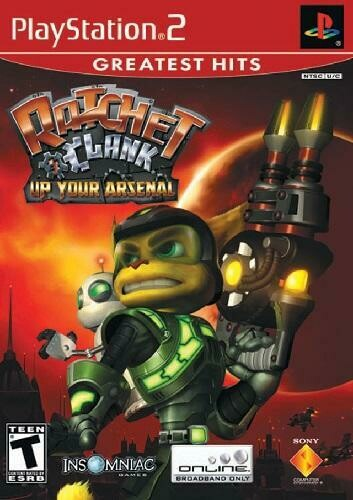 RATCHET & CLANK UP YOUR ARSENAL GREATEST HITS (COMPLETE IN BOX)