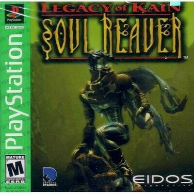LEGACY OF KAIN SOUL REAVER GREATEST HITS (COMPLETE IN BOX) (usagé)