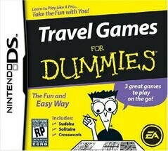 TRAVEL GAMES FOR DUMMIES (COMPLETE IN BOX)