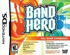 BAND HERO (DRUM ONLY WITH BOX AND MANUAL) (usagé)