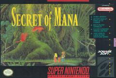 SECRET OF MANA (COMPLETE IN BOX) (usagé)