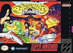 BATTLETOADS IN BATTLEMANIACS (WITH BOX) (usagé)