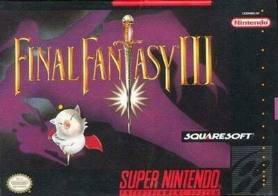 FINAL FANTASY III (COMPLETE IN BOX) (usagé)