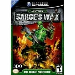 ARMY MEN SARGE'S WAR (NON-ORIGINAL PRINT) (usagé)
