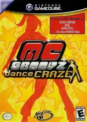 MC GROOVZ DANCE CRAZE (COMPLETE IN BOX) (usagé)