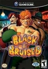 BLACK AND BRUISED (COMPLETE IN BOX) (usagé)