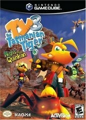TY THE TASMANIAN TIGER 3 NIGHT OF THE QUINKAN (WITH BOX) (usagé)