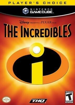THE INCREDIBLES PLAYER'S CHOICE (COMPLETE IN BOX) (usagé)
