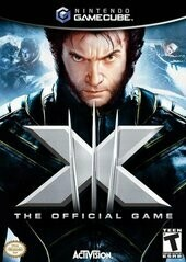 X-MEN THE OFFICIAL GAME (WITH BOX) (usagé)