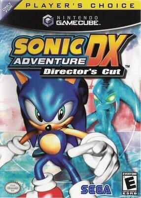 SONIC ADVENTURE DX DIRECTOR'S CUT PLAYER'S CHOICE (COMPLETE IN BOX) (usagé)