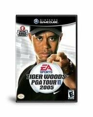 TIGER WOODS PGA TOUR 2005 (COMPLETE IN BOX) (usagé)
