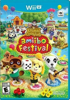 ANIMAL CROSSING AMIIBO FESTIVAL GAME ONLY (WITH BOX) (usagé)