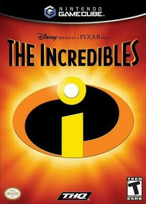THE INCREDIBLES (NON-ORIGINAL PRINT) (usagé)