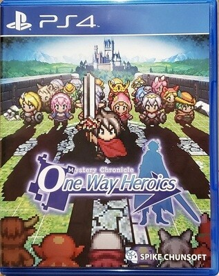 MYSTERY CHRONICLE ONE WAY HEROICS (LIMITED RUN GAMES / 11)
