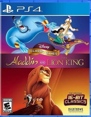 DISNEY CLASSIC GAMES ALADDIN & THE LION KING (usagé)