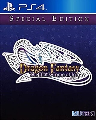 DRAGON FANTASY THE BLACK TOME OF ICE (LIMITED RUN GAMES / 18)